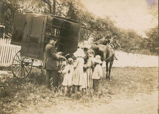 Prima bibliotecă din Statele Unite, Washington, Maryland, 1905