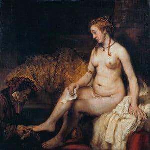 Rembrandt - Batşeba