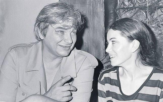Nichita şi Dora, ultima soţie a poetului. FOTO ploaiadecuvinteblogspot.ro