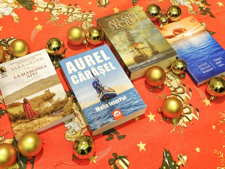 Cele patru cărţi care aşteaptă să ajungă la tine...
