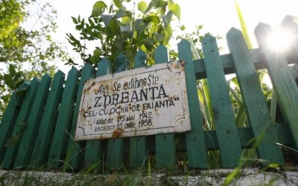 Locul în care ar fi îngropat Zdreanţă FOTO David Muntean