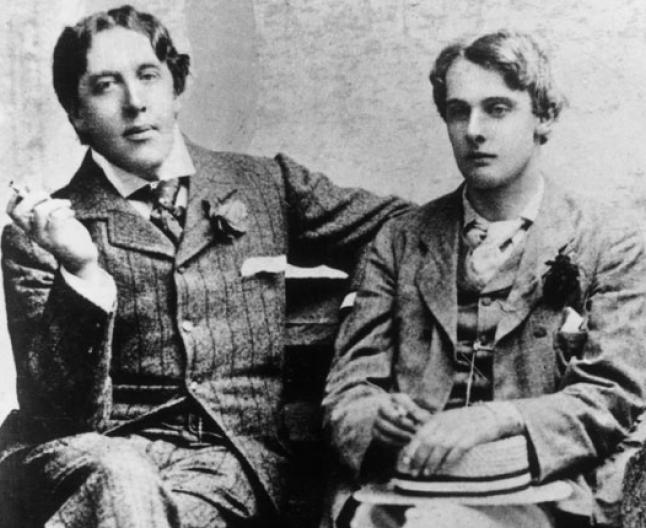 Oscar Wilde şi Lord Alfred Douglas (Foto independent.co.uk)