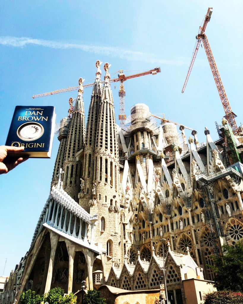 Dan Brown Origini Sagrada Familia