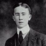 Scriitorul J.R.R. Tolkien, în tinereţe