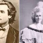 Mihai Eminescu şi Regina Elisabeta