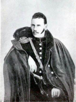 Lev Tolstoi, în 1854 FOTO: Wikipedia