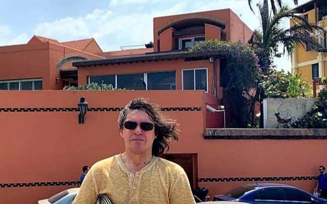 Cărtărescu, în faţa casei lui Marquez