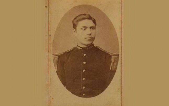 Constantin Creangă, fiul lui Ion Creangă, în uniformă militară