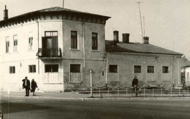 Casa în care a locuit Caragiale, la Buzău