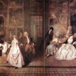 Firma lui Gersaint Antoine Watteau
