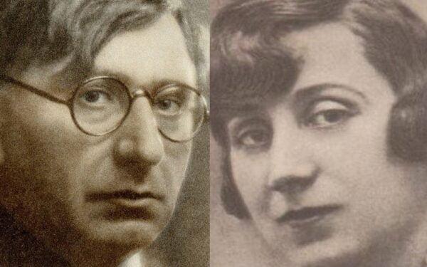 Ion Minulescu si Claudia Millian
