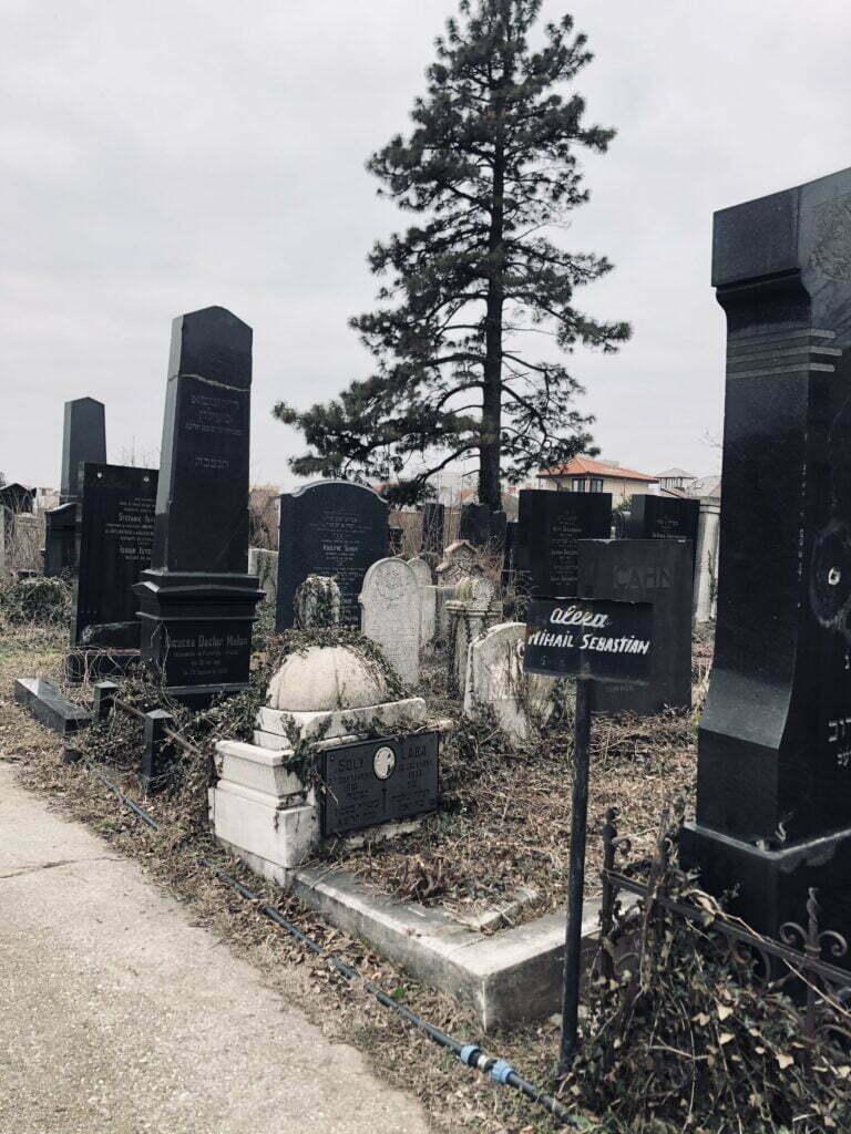 mormânt Mihail Sebastian