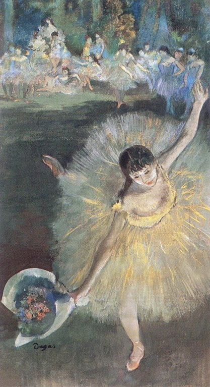 Balerinele lui Degas